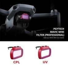 PGYTECH DJI Mavic Mini UV CPL фильтр объектива камеры Профессиональный фильтр для DJI Mavic Mini Drone аксессуары