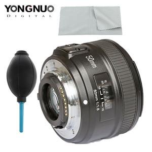 Image 1 - YONGNUO YN 50mm f1.8 AF เลนส์ YN50mm รูรับแสงอัตโนมัติขนาดใหญ่เลนส์สำหรับ Nikon D3000 D3100 D3200 D3300 D5000 DSLR กล้อง