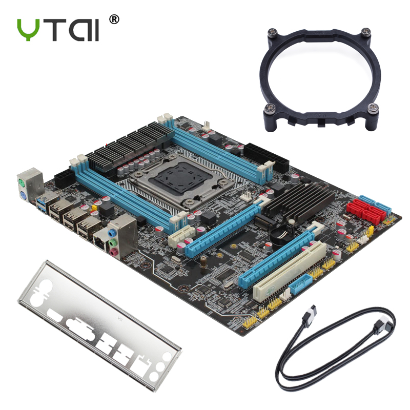 X79 Motherboard LGA 2011 Slot PCI-E16X M.2 Supports ECC REG Memory And Processor Xeon E5 SATA3 USB2.0 4DDR3