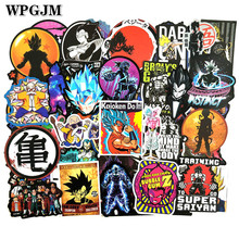 100PCS Anime Dragon Ball Stickers Super Saiyan Goku Decal for Snowboard Luggage Car Fridge Laptop Cool Sticker
