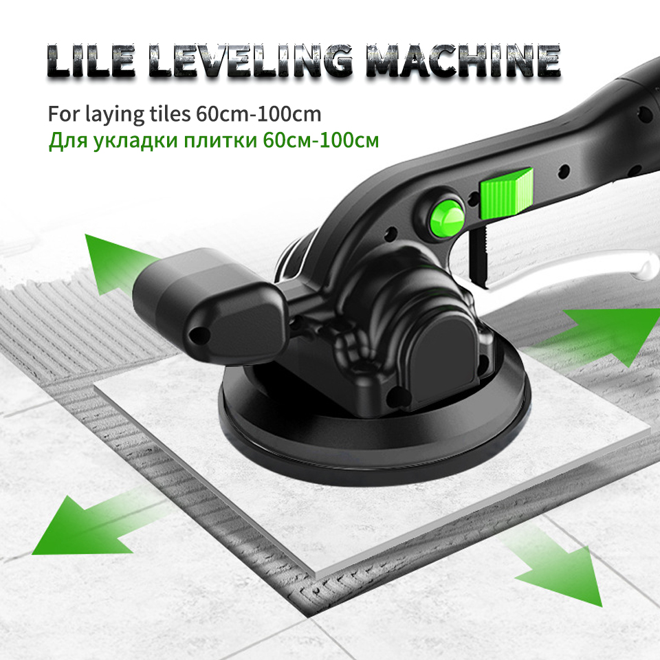 12V Tile Leveling Machine For Laying Tiles Leveling System Professional Tiling Tool Tile Vibrator Construction Tools Carrelage