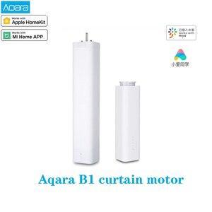 Aqara B1 bezprzewodowy inteligentny silnik elektryczny kurtyny Wifi/głos/pilot aplikacji sterowania kurtyny silnika pracy z mi aplikacja domowa