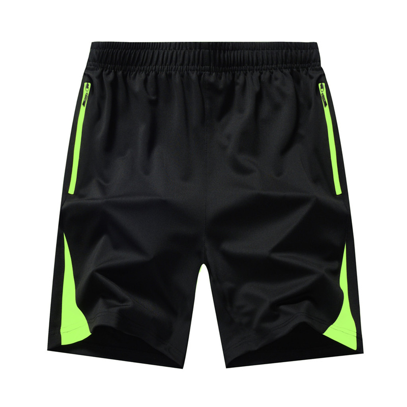Summer Casual Mens Shorts Plus Size Thin Fast-drying Beach Trousers Casual Sports Short Pants Men Shorts Sport With Zipper