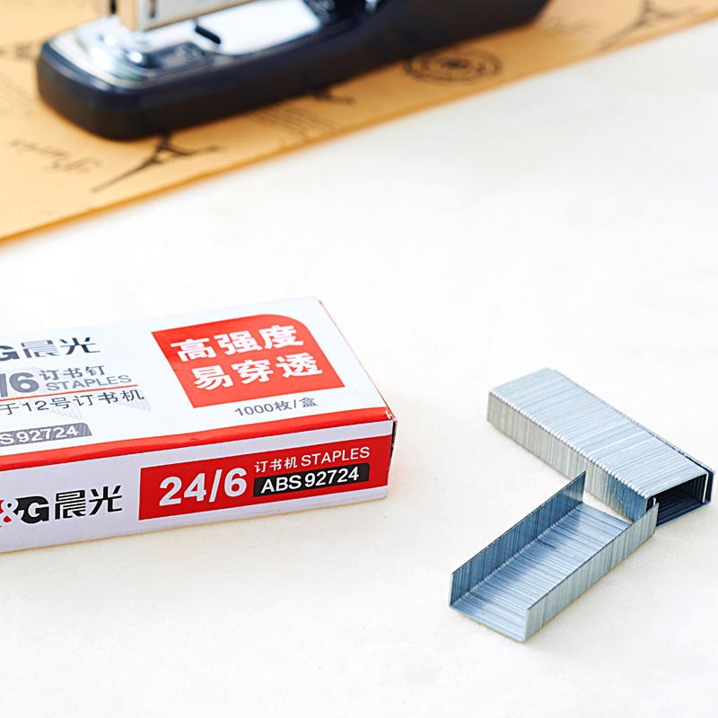 M&G Stationery ABS92724 High Strength Staples 24/6 Unified Staples 12 Staple