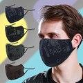 Маска для лица, многоразовая, Adlult, для улицы, моющаяся Rrint, теплая защита, 1 маска, угольный фильтр, маска, Тканевые маски, моющиеся, многоразов...