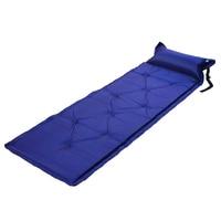 Auto inflável almofada de dormir almofada de acampamento com travesseiro saco de colchão de ar piquenique praia esteira de areia para adultos Esteira de acampamento     -