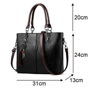 Image 5 - BelaBolso Vintage Tote Bag Per Le Donne Borsa di Cuoio di Grande Capienza del Sacchetto di Spalla Delle Donne Top Handle Crossbdoy Borse Femminile HMB647