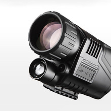 лучшая цена Infrared Digital Night Vision Monocular  Full Dark 5X40 200M Range Hunting Monocular Night Vision Optics Hunting Scope Telescope