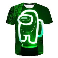 Tops T-Shirt Game Xxx-Girls Among Us Boys Clothes Funny Cartoon Child Summer Unisex