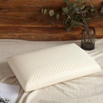 Almohadas de masaje de látex para dormir, Almohada ortopédica de rebote lento...