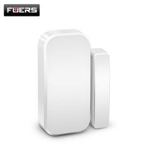 Image 2 - Fuers Wireless Home Tür Fenster Einbrecher Sicherheit Magnetische Sensor 433MHz Tür Detektor für KERUI Home office Sicherheit ALARM System