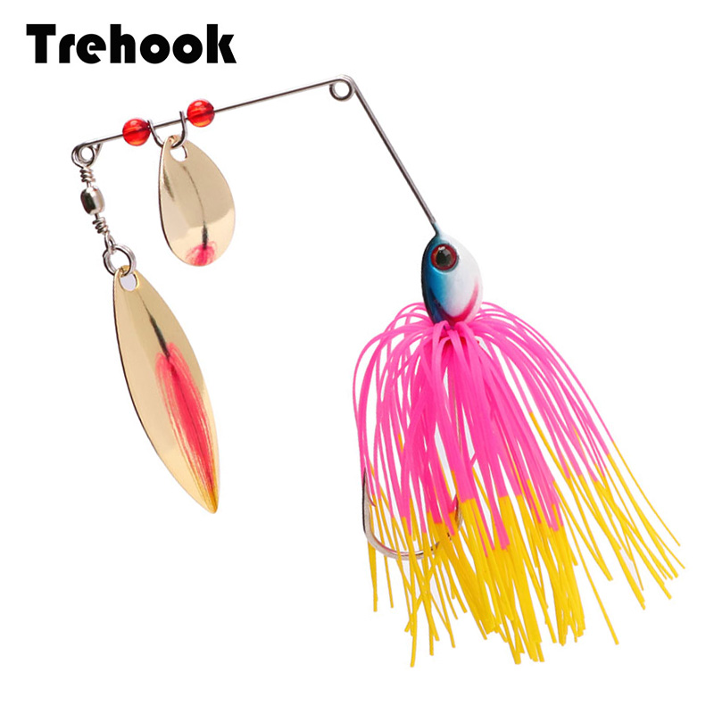TREHOOK 15.5g Spoon For Fishing Spinners Bait Artificial Fishing Lure Spoon For Pike Wobblers Spinnerbait Chatterbait Crankbait