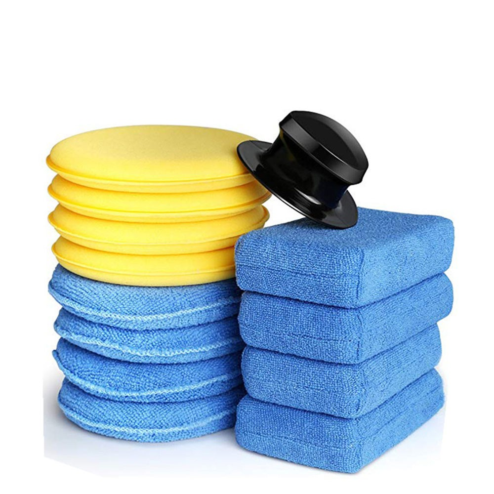 Waxing-Sponge Car-Accessories Polishing Automatic Exclusive-Set Manual 1set