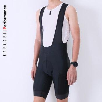 SPEXCEL-Culotte de ciclismo corto con bolsillo lateral, gel ligero, nuevo, 2020 almohadilla...