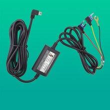 DVR 전원 코드 저전압 보호 12V 5V 마이크로 미니 USB 전원 케이블 자동차 비디오 레코더 주차 모니터링 3.2M