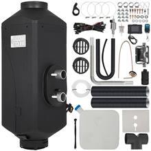 VEVOR 12V 5KW calentador de aire Diesel con LCD interruptor silenciador Control remoto calentador de coche para camión barco autobús de remolque calentador de combustible