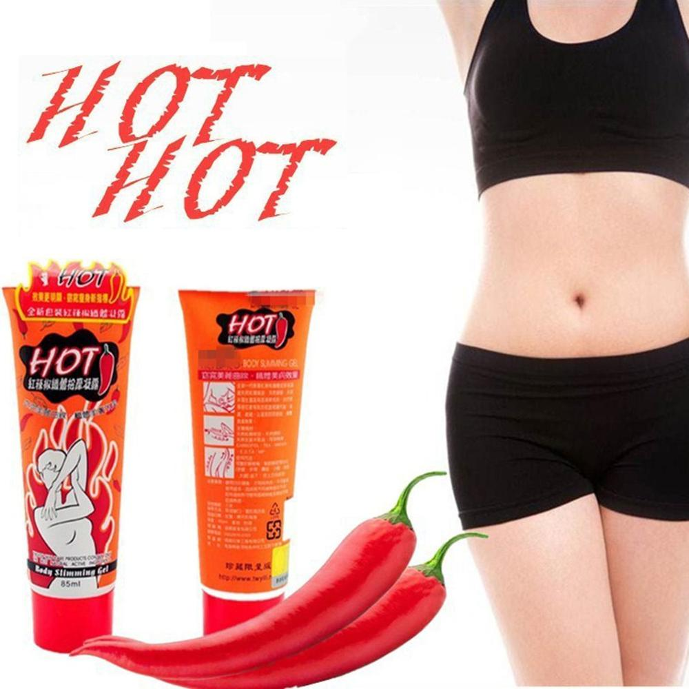 Red Pepper Slimming Massage Cream All Natural Weight Loss Fast Burn Fat Burner Anti Cellulite Slimming Cream Gel 4