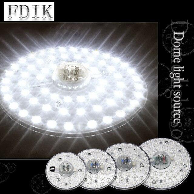 Потолочный светодиодный светильник, потолочная лампа на замену в виде осьминога, 220 В переменного тока, 12 Вт, 18 Вт, 24 Вт, 36 Вт
