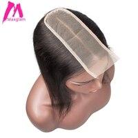 Transparent Lace Frontal 2x6 Lace Closure Straight Brazilian Human Hair Hd Lace Closure 2*6 Kim K Closure for Black Women