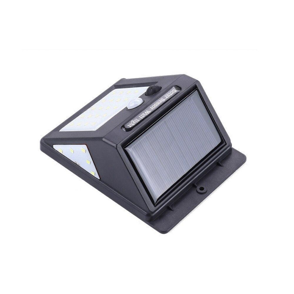 30/40 LED Solar Power Lamp PIR Motion Sensor 1/2/4pcs Wall Light Outdoor Waterproof Energy Saving Garden Security Lamp