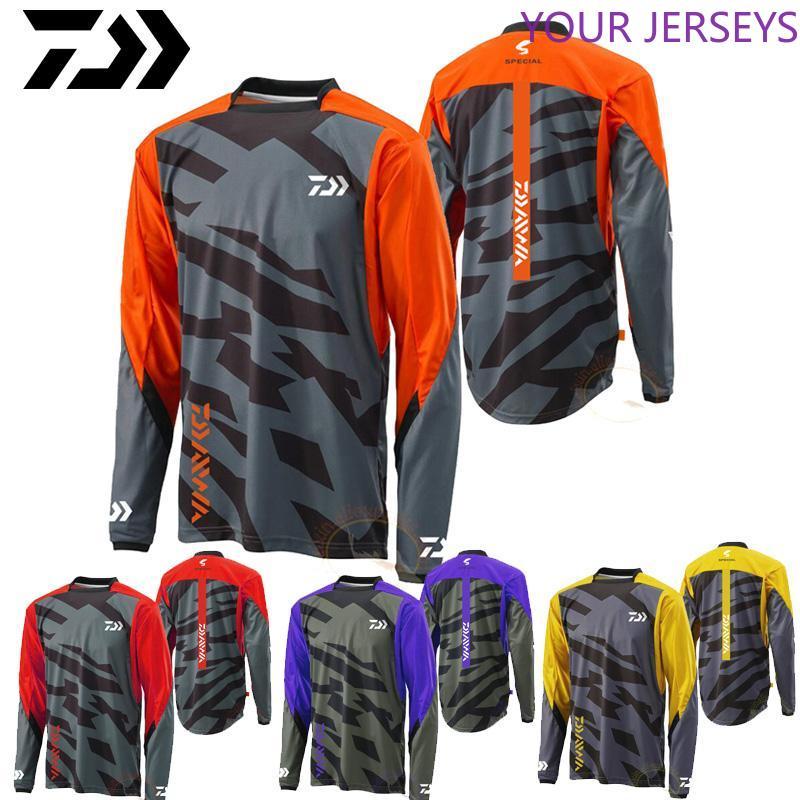 2020 Daiwa Cycling Fishing Jerseys Anti-mosquito Quick Dry  Sportswear  Clothing Long Sleeve Anti-UV Autumn Shirt Pesca DAIWA