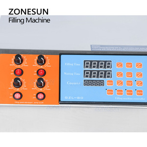 Image 2 - ZONESUN 4nozzle Bottle Water Filler Semi Automatic Liquid Vial Filling Machine For Juice Beverage Soy Sauce Oil Perfume