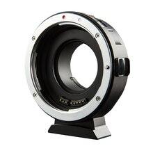 Viltrox EF M1 אוטומטי פוקוס Exif עדשת מתאם עבור Canon EOS EF EF S עדשה כדי M4/3 מצלמה GH5GK GH85GK GF7GK GX7 E M5 השני E M10 III