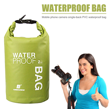 2L wodoodporne torby do przechowywania wodoodporna sakwa torba Drifting PVC torby na ramię Outdoor Sport Camping torby do przechowywania łodzi plecak tanie i dobre opinie VKTECH CN (pochodzenie) Do przepraw przez rzekę
