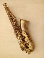 High quality tenor Saxophone Bb tenor saxophone /sax Antique brass Sax music and case Mouthpiece
