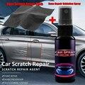 Спрей для удаления царапин с автомобиля, нано-спрей для ремонта царапин, керамическое покрытие с тканью