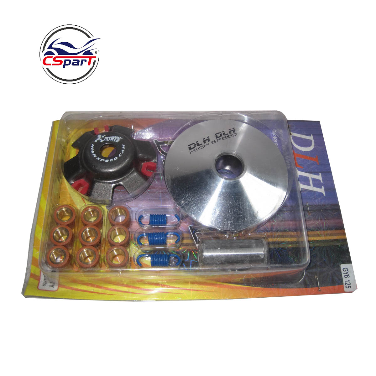 High Performance CVT  Variator Kit with Roller Weights  Drive Pulley for GY6 125cc 150cc 152QMI 157QMJ and Dio Scooter Moped
