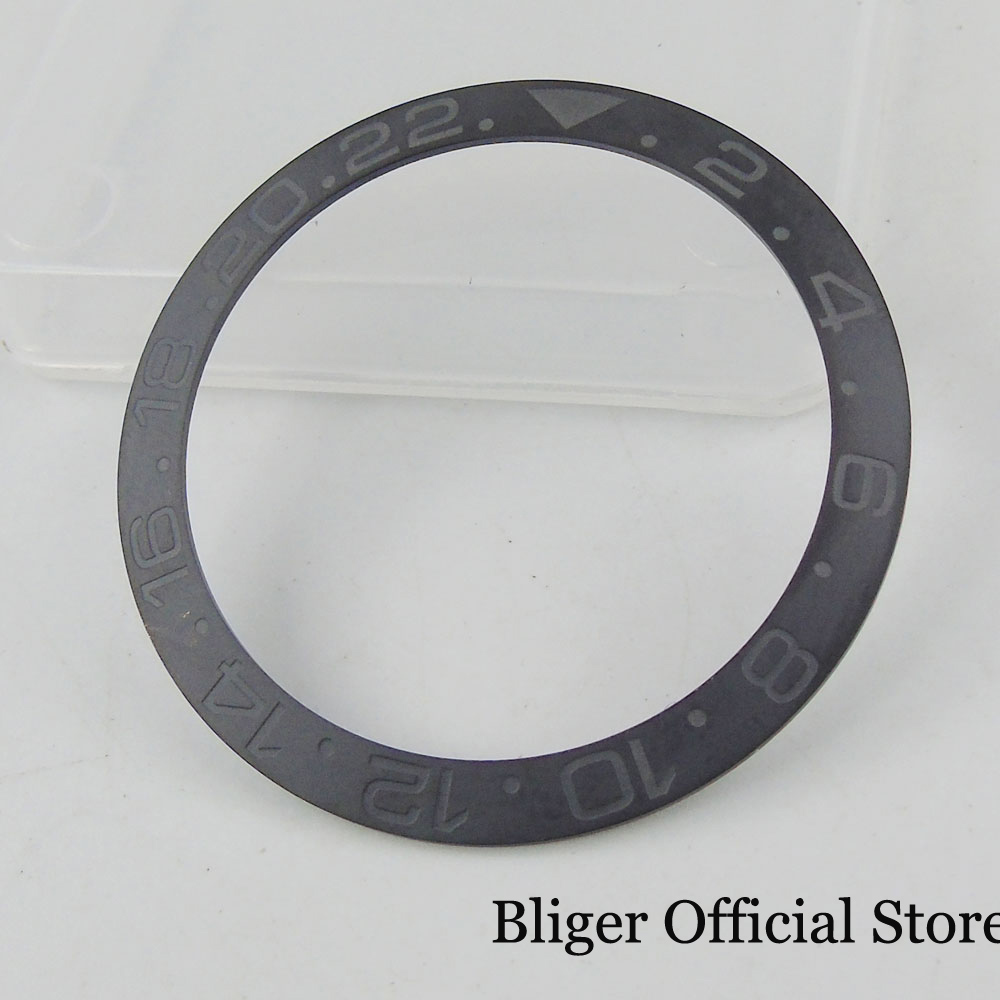 High Quality Black Ceramic Bezel 38mm Diameter Fit 40mm Automatic Men Watch