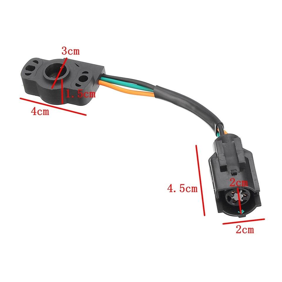 Throttle Position Sensor TPS Fit for Ford E150 E250 E350 F150 F250 F350 Bronco for Mustang Throttle Body Position Sensor TH44T