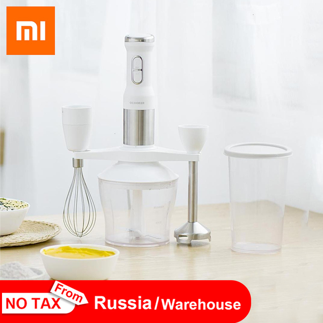 2019 New XIAOMI MIJIA QCOOKER CD-HB01 hand Blender Electric Kitchen Portable Food Processor mixer juicer Multi function Of Quick