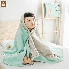 Xiaomi Youpin COMO SALA de ESTAR das Crianças dos miúdos Nuvem Cobertor Quente Macio E Confortável Pele-friendly Colcha de Bebê Infantil Para O Sofá escritório