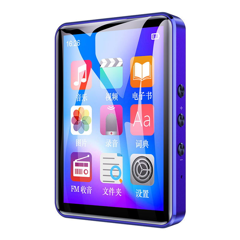 Lenovo 8GB Digital Music MP3 Player Bluetooth 4.0 Video/Image Player 2.8inches Support E-Book/Recorder