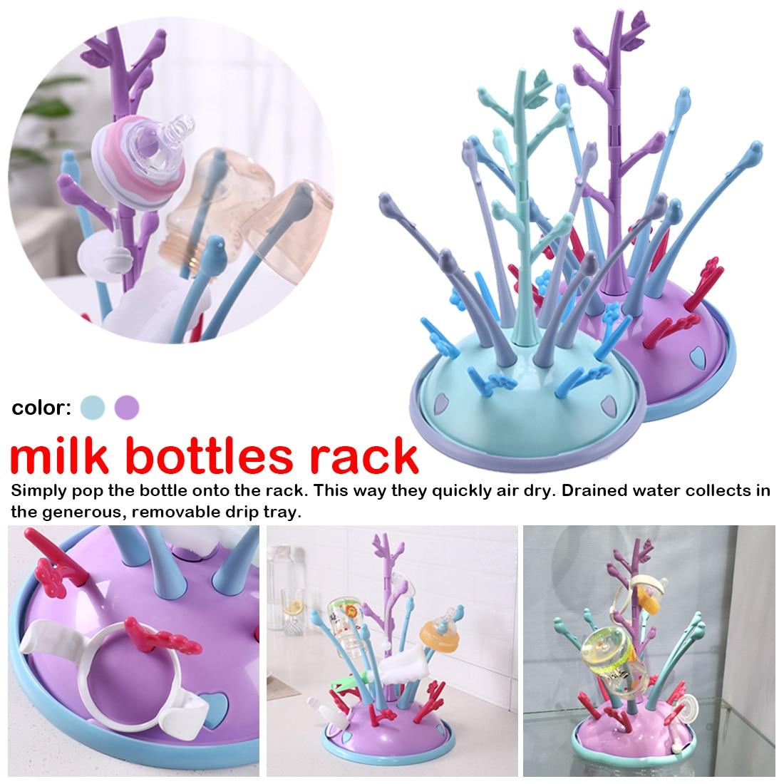 1pcs Portable Drying Rack For Baby Bottles Drainer Bottle Holder For Feeding Drying Cup Rack For Babies Bottle Drying Rack