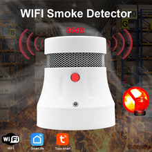 Fire-System Detector Smoke-Combo Tuya Wifi House-Security Cpvan