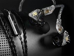 Image 4 - AUGLAMOUR T100 גרפן קואקסיאלי הכפול דינמי נהג 2Pin 0.78mm HiFi ב אוזן אוזניות עם מיקרופון