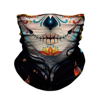 3D Skull Face Mask Bandanas Outdoors Protective Masks Skull Venom Neck Gaiter Mascarillas Cycling Bandana Windproof Headband 1