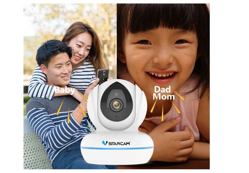Ip камера Vstarcam C22Q 4MP, ip камера 2,4G/5G, Wifi, ИК, ночное видение, Сигнализация Движения, видеонаблюдение, камера безопасности H.265