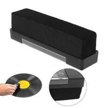 1 brosse de nettoyage antistatique de velours de Fiber de carbone pour des outils de disques de vinyle de LP 95AF