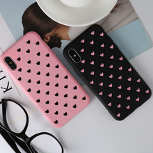 KISSCASE Fashion Love Heart Case For Huawei P20 P10 Lite Pro Mate 20 10 P Smart Hard PC Phone Cases For Honor 9 10 Lite 8X Cover