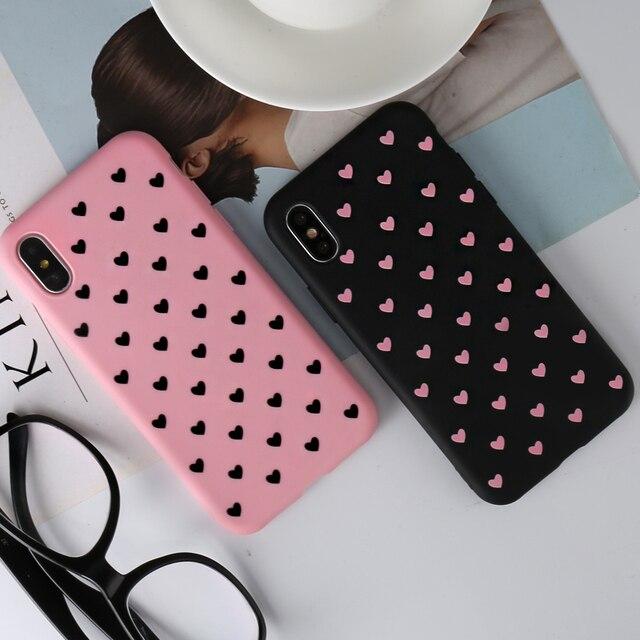 KISSCASE mode amour coeur étui pour huawei P20 P10 Lite Pro Mate 20 10 P Smart dur PC coques de téléphone pour Honor 9 10 Lite 8X couverture