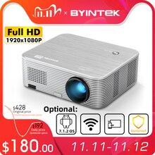 BYINTEK K15 Full HD 4K 300inch 1080P Smart Android Wifi lAsEr 3D LED Video Projector Beamer for Smartphone