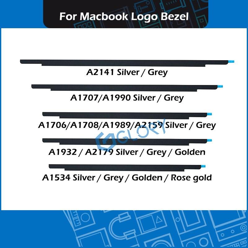 Новый ноутбук логотип Безель стеклянная крышка для Macbook Air Pro Retina A1534 A1706 A1707 A1708 A1989 A1990 A1932 A2159 A2179 A2141
