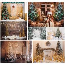 Allenjoy Рождественский Декор зимняя елка камин подарки деревянный