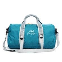 Waterproof Travel Portable Sports Bag Dry And Wet Separation Fitness Bag Sport Bag Men For Gym Bag Women Fitness Training Yoga tuban professional sports dry wet separation bag