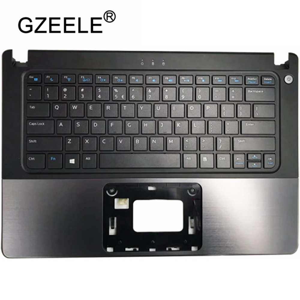 New Palmrest Top Case Cover  For DELL VOSTRO V5460 5460 V5460D 5470 V5470 5470R US Keyboard Upper Case With/without Fingerprint