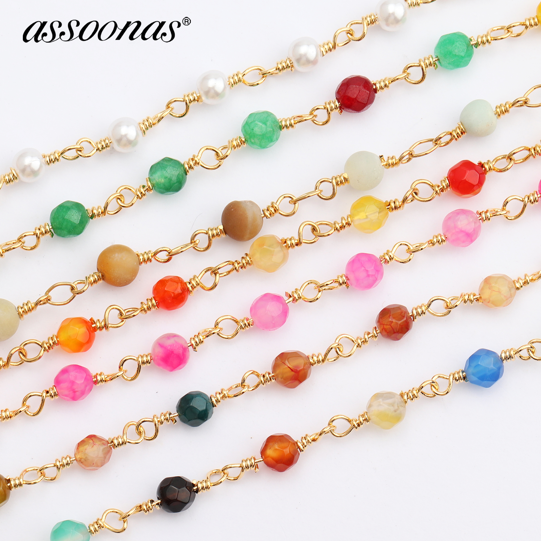 Assoonas C47,chain,jewelry Accessories,beads Chain,accessories Parts,jewelry Findings,hand Made,diy Jewelry,diy Earrings,1m/lot
